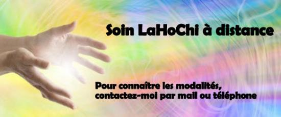 Soin lahochi a distance